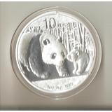 Moneda 1 Onza De Plata 0,999 China Año 2011