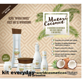 Coconut Kit Everyday- 05 Produtos- Mutari