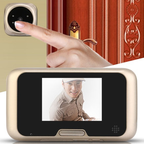 Digital Door Peephole Viewer 3.0 Tft Cam Olho Magico Eletron