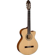 Washburn Guitarra Electro Acustica Natural Modelo Eac12