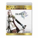 Final Fantasy 13, Favoritos, Ps3, Nuevo Y Sellado
