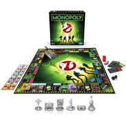 Juego De Mesa Monopoly Cazafantasmas Ghostbusters 6 Tokens
