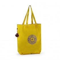 Bolsa Dobrável Kipling Hip Hurray 4842534n Mustard Yellow