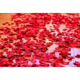 500 Petalas De Rosa Artificial De Seda,vermelha P/ Decoração