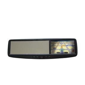 Espelho Retrovisor Multimídia Com Gps-bluetooth-camera De Ré