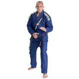 Kimono Jiu Jitsu Red Nose Top World Azul Marinho