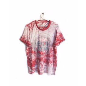 Camiseta Masculina Venom Estampada Branca Vermelha Desenho