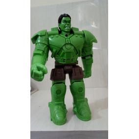 Boneco Articulável Avengers Vingadores Hulk Som