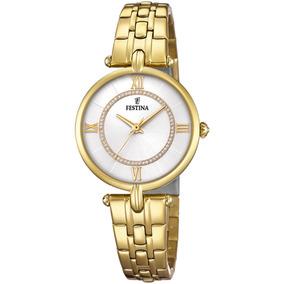 c6ea0361abae Reloj Mujer Dorado Festina - Relojes Pulsera en Mercado Libre Chile
