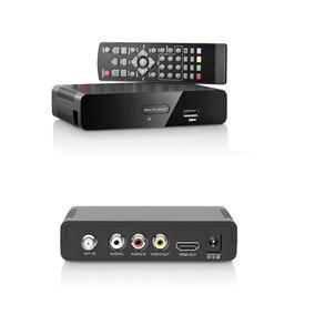 Conversor Digital E Gravador Tv Digital Re207 Multilaser