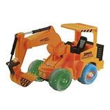 Toysery Elétrico Da Escavadeira A Construção De Trator Ca