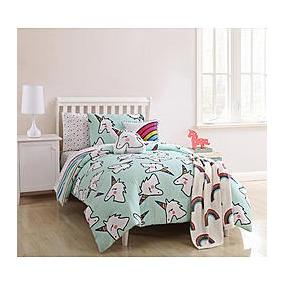 Edredon individual unicornio en mercado libre m xico for Cama unicornio