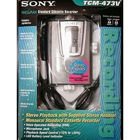 Sony Tcm473v Reproductor / Grabadora De Cassette Estéreo Po