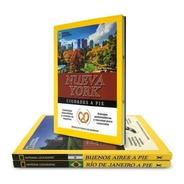 Clarín Colección Ciudades A Pie De Natgeo De 8 Guías