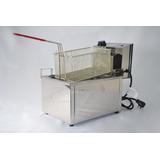 Freidora Gastronomica Eléctrica 8 Lts Acero Control Autom