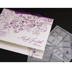 Invitacion Boda Xv Años Diseño Elegante Y Moderno
