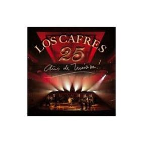 Cafres Los 25 Años De Musica Cd X 2 + Dvd Nuevo