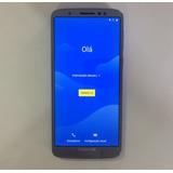 Motorola Moto G6 Plus 64gb 4g Dual Cam Azul Topázio-vitrine
