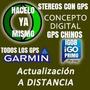 Actualizacion Gps A Distancia Chinos Garmin Igo8 O Stereo