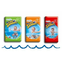 Pañales Para Agua Huggies Little Swimmers Playa, Pileta
