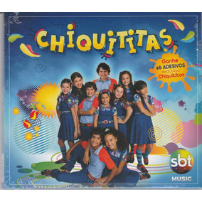 Cd Chiquititas Vol 1 - 26 Adesivos - Lacrado