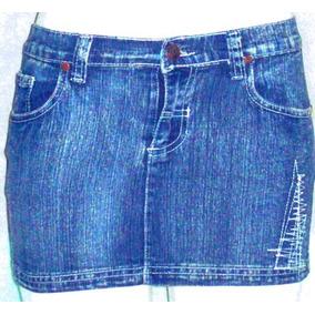 Polleras Minifaldas En Jean Con Licra Y Sin Ella Super Juven