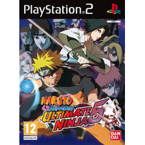 Naruto Ultimate 5 Playstation 2 Patch Alta Qualidade