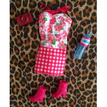 Set De Vestido Para Muñeca Barbie De Verano, Nuevo ,original