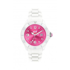 Ice-watch - Sili - Big 48 - White Fluo Pink - Silicone