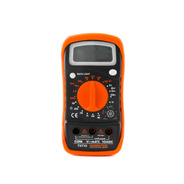 Tester Multimetro Digital Profesional Con Luz Hamilton Tst10