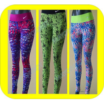 Licras Leggins Estampados Gym Colores Mallas Colombiana Depo