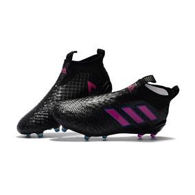 Chuteira adidas Ace 17 Purecontrol Black+pink F.fina Origin. 0ef947bcfddea