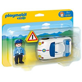 Auto De Policía Playmobil Línea 123 -art. 6797