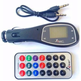 Transmissor Fm Carro Mp3 Player Cartão Sd Usb Fm-033dm