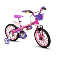 Bicicleta Infantil Nathor Aro16 5 A 8 Anos Fen/ Masc
