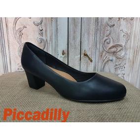 Zapato Piccadilly Clasico Coleccion 2018 Negro