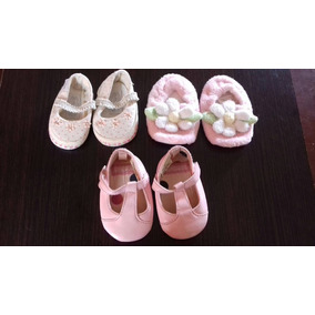 Zapatillas Para Bebes De 0-6 Meses