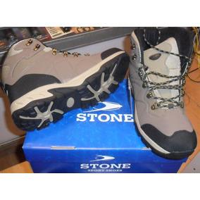 Bota Stone Para Trekking Art. 5800 Beto Maxera Belgrano
