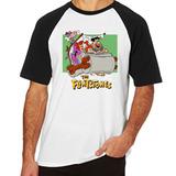Camiseta Camisa Blusa Tamanho Flinstones Carro Fred Vilma