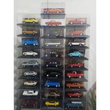 Kit Colecionador 28 Carros Escala 1:43 + Expositor +revistas