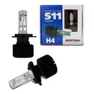 Kit Lâmpada Ultra Led H4 6000k 35w S11 - Shocklight