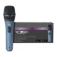 Microfono Ross Fm138 Para Cantante Karaoke Con Cable Nuevo