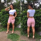 Bermuda Shorts Feminina Moda Verão Roupas Frete Gratis