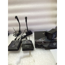Kit Microfone Para Acordeon C516ml Sem Fio Akg C/ Nf