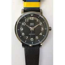Reloj Q & Q Hombre , (citizen), Formal, Piel