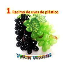 Racimo Uva Plastico Comida Replica Escenografia Utileria