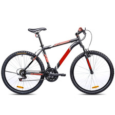 Bicicleta Mountain Bike Rodado 26 Aluminio 21 Velocidades