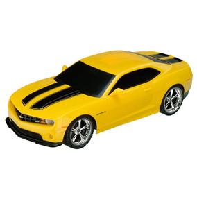 Carrinho De Controle Remoto Xq Camaro Amarelo 2011 1:32