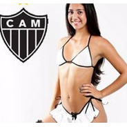 Mini Fantasia Sensual Torcedora Atlético Mineiro Sexy