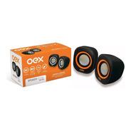 Caixa De Som Usb/p2 Oex Sk100 Speaker Para Notebook E Pc
